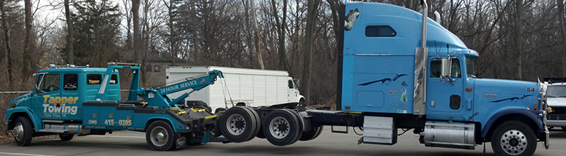 Towing Services | Tapper Towing LLC | Paw Paw, MI | (269) 415-0285